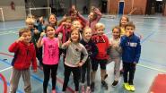 Leerlingen VBS 't Waterpleintje op sportweek
