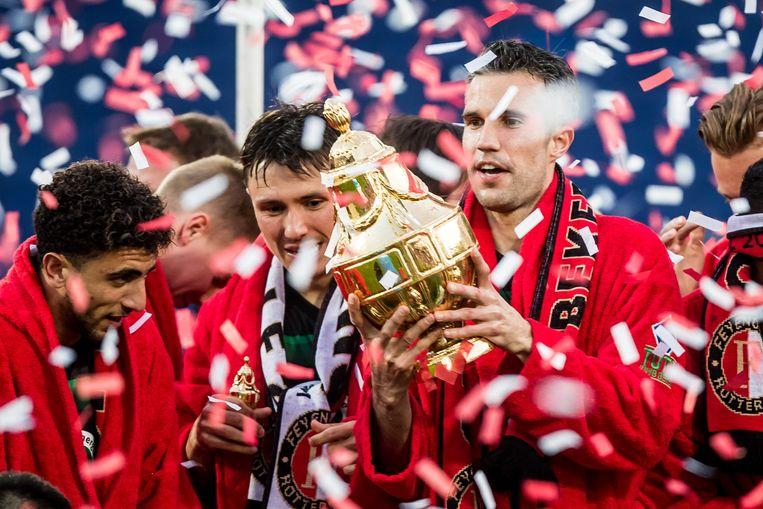 De beker met Feyenoord (2018) Beeld ANP