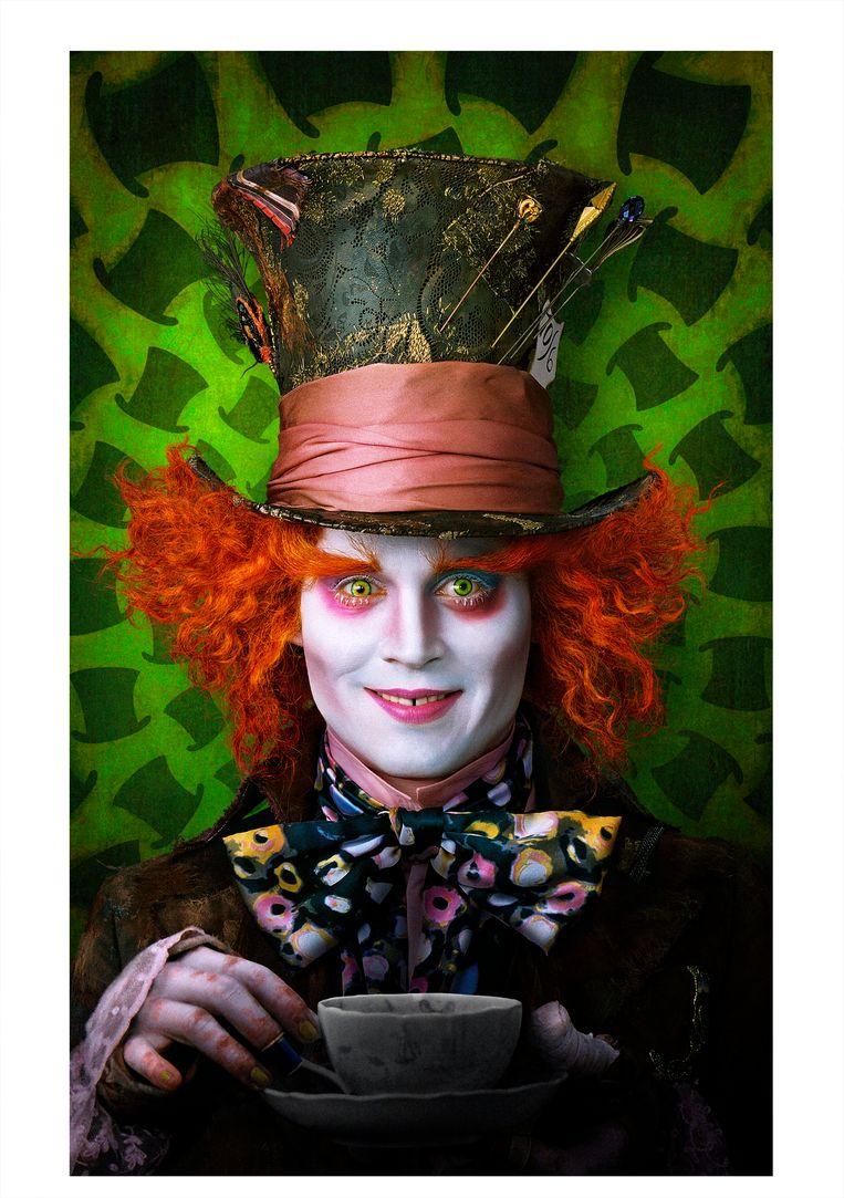 'Alice in Wonderland', met 'Mad Hatter' Johnny Depp.