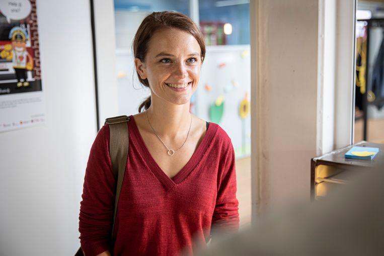 Lynn Van Royen in 'De Luizenmoeder'.