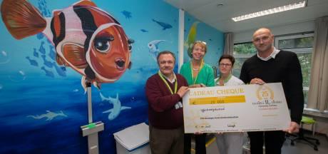 Kamers Koningin Paola Kinderziekenhuis binnenkort in onderwaterthema dankzij gulle gift