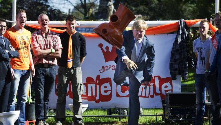 Willem Alexander Wc Pot.Met Gerichte Training Kan Kroonprins In 2013 Nationaal