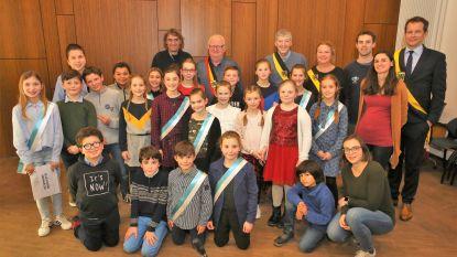 Lore Verhaegen is de nieuwe kinderburgemeester in Beersel