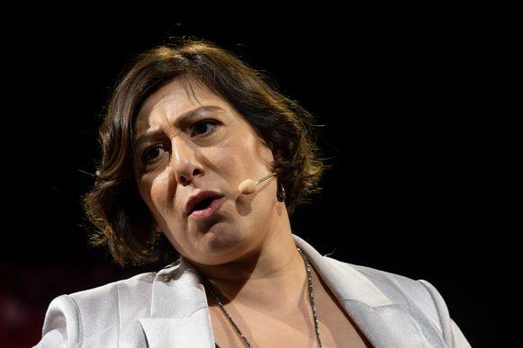 Groen-voorzitster Meyrem Almaci.