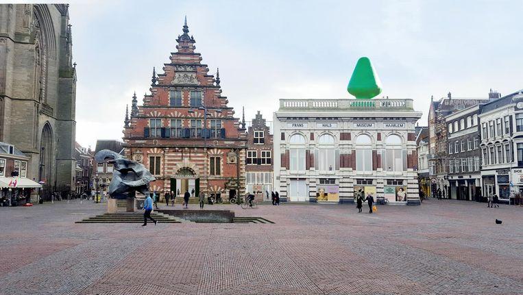 De uitstraling die het Frans Hals Museum moet gaan krijgen. Beeld RV