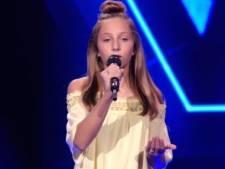 12-jarige Kiya scoort met breekbaar nummer van Borsato in Voice Kids