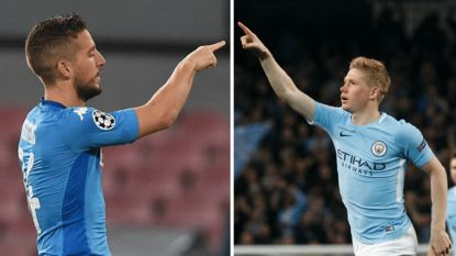 MULTILIVE Champions League: De Bruyne versus Mertens - Spurs-Belgen op bezoek in Bernabéu - Tielemans in de basis