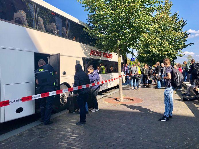 Vervangende bussen.