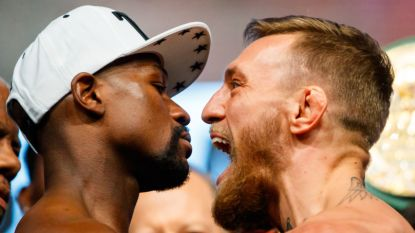 """McGregor die stopt? Ook Mayweather gelooft er weinig van: """"Als je beslist terug te komen, ben ik klaar om je weer te straffen"""""""