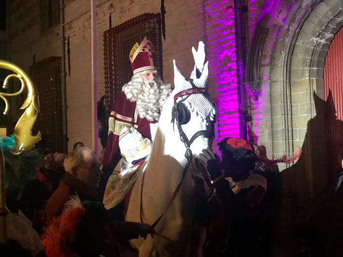 Sinterklaas op schimmel