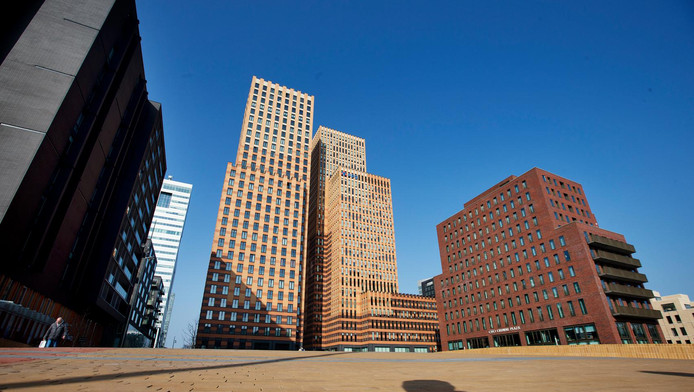 In Amsterdam wordt dit jaar naar schatting 375.000 vierkante meter kantoorruimte verhuurd.