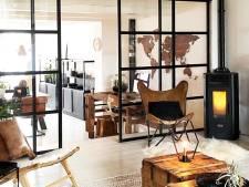 De woonboerderij van Jellina Detmar is stoer en stijlvol
