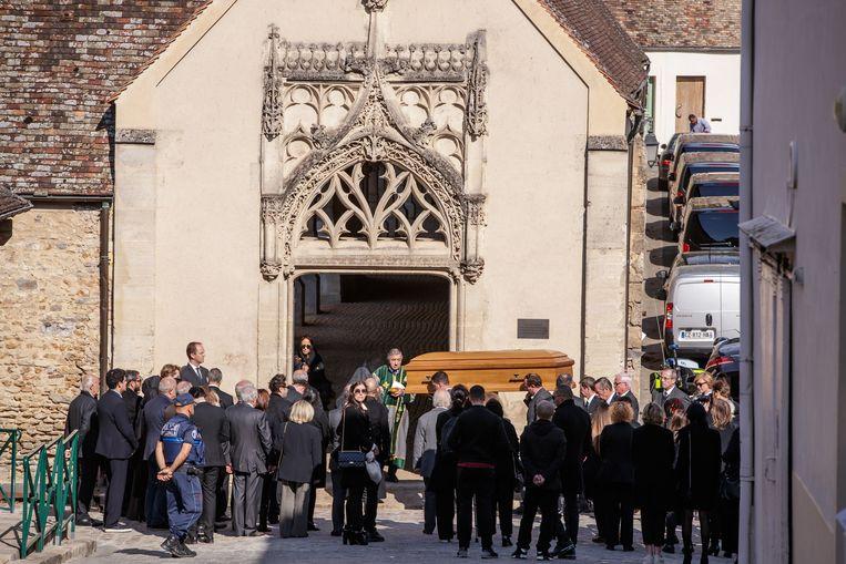 Charles Aznavour is zaterdag begraven.