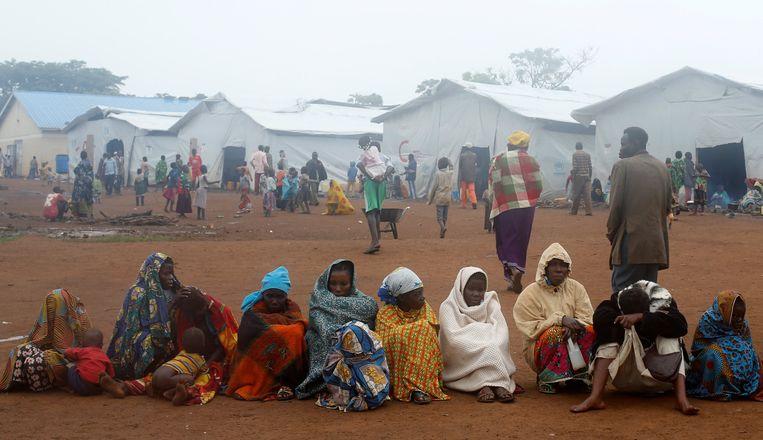 Vluchtelingen in Oeganda (Illustratiebeeld).