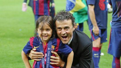 """Drie maanden na verlies dochtertje is Luis Enrique weer bondscoach Spanje: """"Xana wordt de ster die ons zal gidsen"""""""