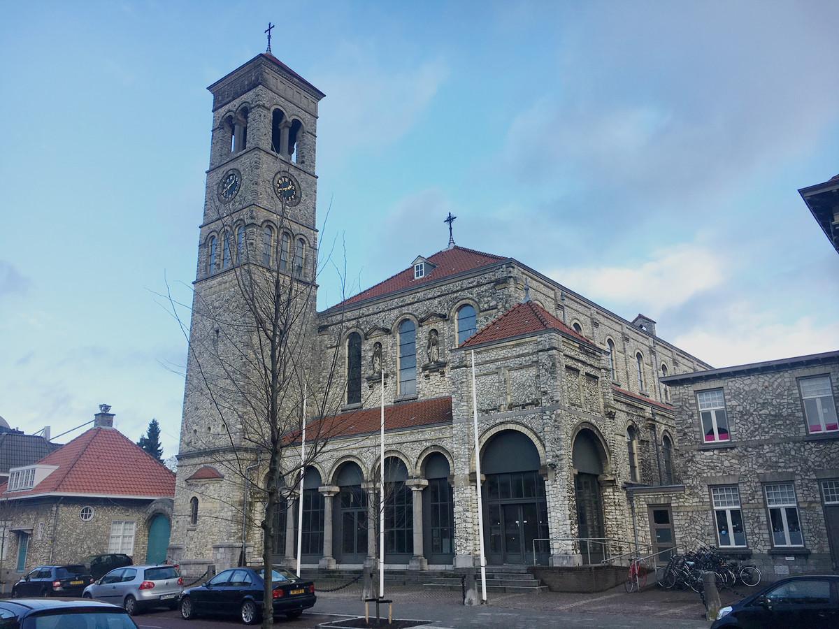 De Steentjeskerk aan de Sint Antoniusstraat in Eindhoven wordt in november 2019 het 'Huis van Sinterklaas'.