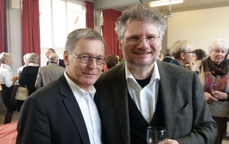 Walter De Rijck van Curieus met Thierry Marinelli.