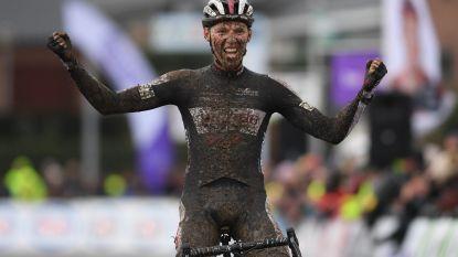 KOERS KORT (13/1). Kielich wint BK veldrijden bij beloften - Ewan vloert Sagan na massale valpartij - Hitte teistert Tour Down Under - Brand verlengt haar Nederlandse titel bij de vrouwen