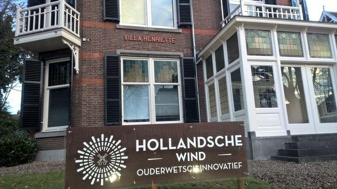 De monumentale villa van Hollandsche Wind in Oosterbeek, in december vorig jaar.