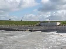 Waterdunen nog niet veilig genoeg om zeewater binnen te laten