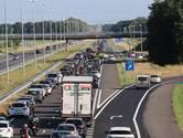 Ruim een uur vertraging op A50 tussen Epe en Apeldoorn
