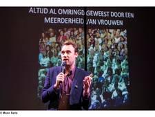 De powerpoint-ironie van Michiel Lieuwma in Eindhoven