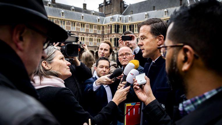 Nederlands premier Mark Rutte.