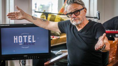 """Vanthilt neemt nieuwe online talkshow Hotel Marcel op in Et Alors: """"We filmen in de horecazaak, terwijl klanten gewoon binnen en buiten lopen, pure rock 'n roll"""""""