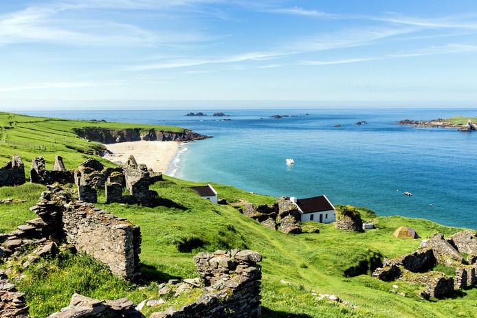 Het Ierse Great Blasket Island.
