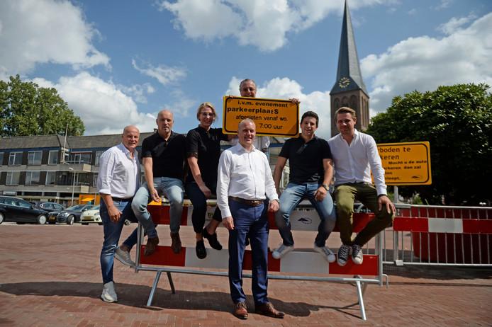Aankomend weekend vindt Heerlijk Hengelo weer plaats. Vlnr Eric Spit, Mark Pastoor, Mirjam Jolij, George Ten Brummelhuis, John Even en Niels Knoef.