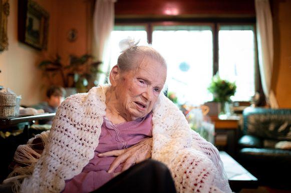 Euphania Vonckx (toen 105).