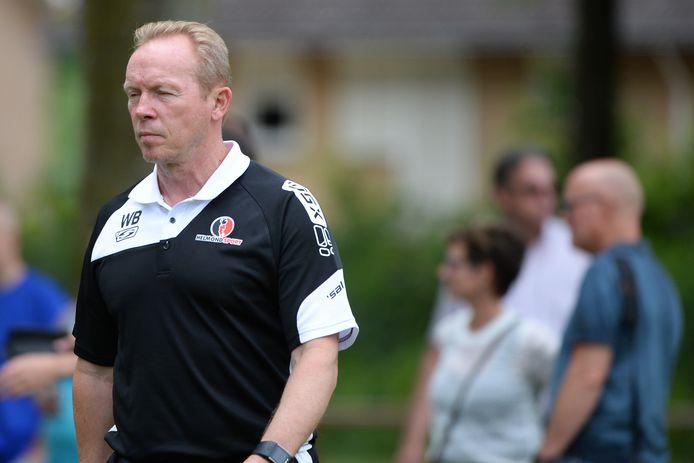 Helmond Sport-trainer Wil Boessen zag zijn ploeg hard onderuit gaan tegen Eredivisionist Heracles Almelo