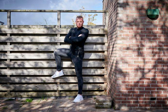 Thomas Verheydt, oud-spits van GA Eagles en nu Almere City.