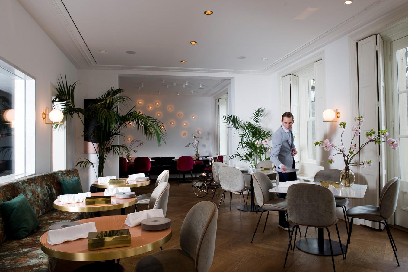 Het interieur van restaurant Voltaire in Leersum.