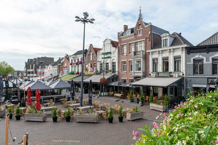Horeca aan de Markt van Roosendaal