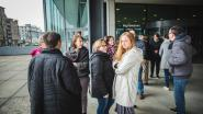Ook in Gent een twintigtal actievoerders voor het gerechtsgebouw