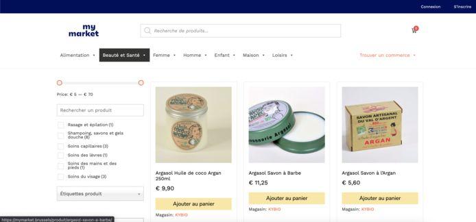 Op My Market kunnen Brusselaars allerlei spullen kopen bij lokale handelaren.