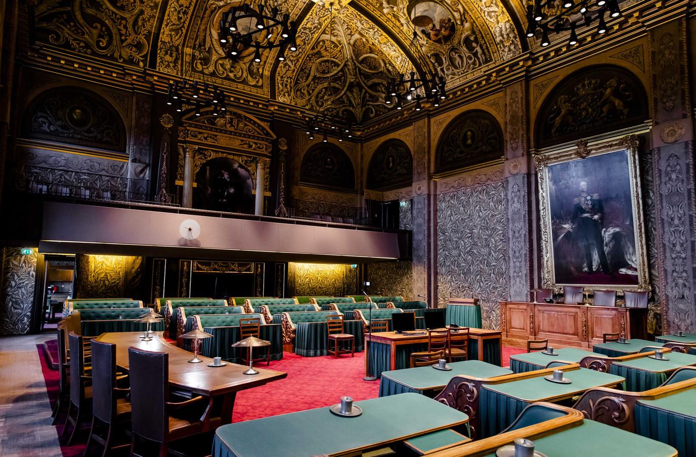 D66 verloor drie van haar zetels in de Eerste Kamer de extra Flevolandse stem mocht niet baten.