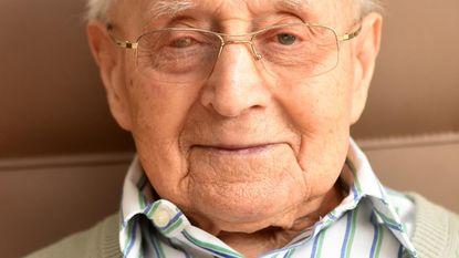 Jules D'hoop is 103 jaar