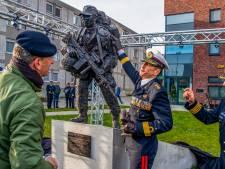 Mariniers trots op het beeld De Rekruut: 'Dit symboliseert onze toekomst'