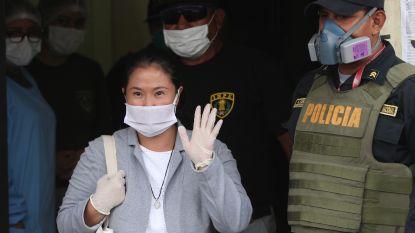 Peruaanse oppositieleidster Fujimori vrijgelaten