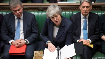 Brits Lagerhuis stemt tegen brexit zonder akkoord - May wil uitstel van brexit tot 30 juni