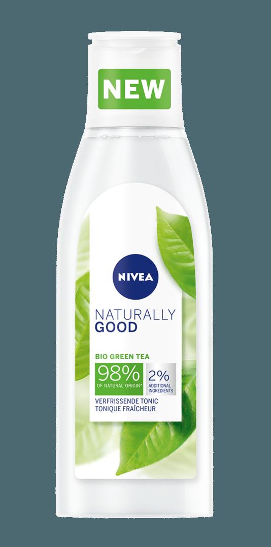 Tonique fraîcheur. Pour tous les types de peaux aux thé vert Bio. 5,99 euros - 200 ml.