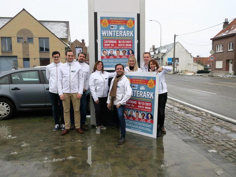 Immo-kantoor L&S Vastgoed uit Eizeringen organiseert een winterevenement ten voordele van de Ark van Pollare.