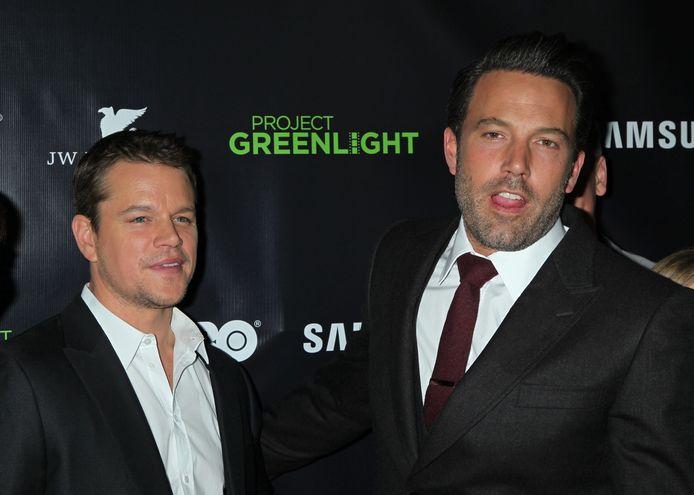 Matt Damon en Ben Affleck