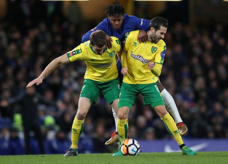 Batshuayi in actie tegen Norwich