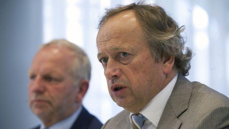 Staatssecretaris Henk Bleker. Beeld null