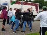 Flyer-actie Pegida in Eindhoven loopt uit de hand