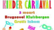 Kindercarnaval met verkiezing prins en prinses in De Brugzavel