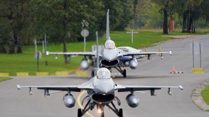 F-16 ontploft op militaire vliegtuigbasis in Florennes: 2 lichtgewonden
